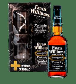 6 PACK Bourbon Whiskey Evan Williams E.N