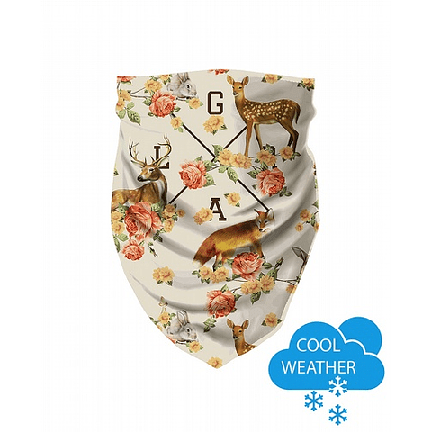 Tube Scarf LOOSE RIDERS Forest Animals