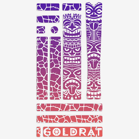 Frame GOLDRAT Tiki Purple/Pink