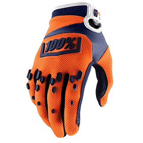 Guante 100% Airmatic Orange/Navy