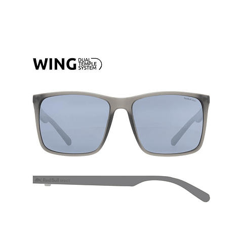 Lentes RED BULL SPECT EYEWEAR Bow Mirrored Gris Mate/ Espejado Silver