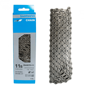 Cadena SHIMANO 11V Cn-Hg701 Shimano Ruta y Mtb 116 Links (Road and Mbt)