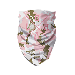 Tube Scarf LOOSE RIDERS Forest Pink Camo