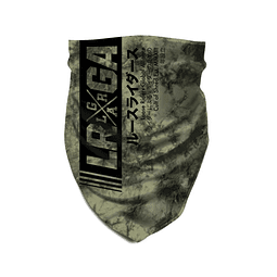Tube Scarf LOOSE RIDERS Tie Dye Army