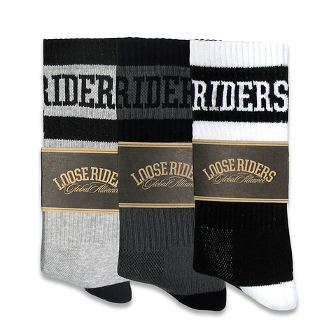 Calcetas LOOSE RIDERS 3 pack Classic