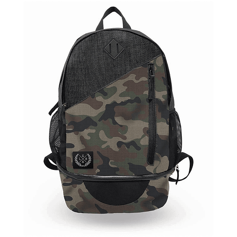 Mochila LOOSE RIDERS Camo / Black Heather