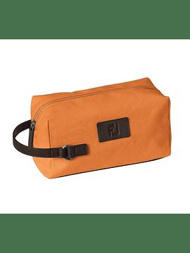 FJ Canvas Dopp Kit Orange