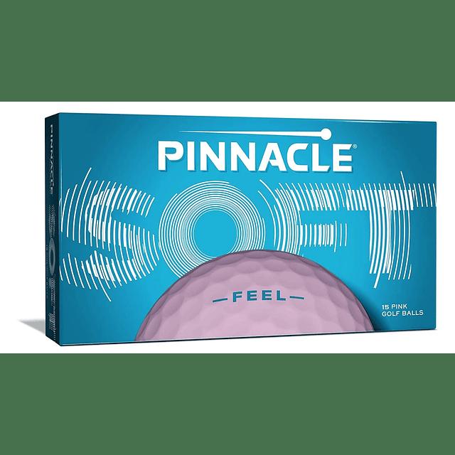 Pinnacle Soft Womn 15 Pelotas Rosadas