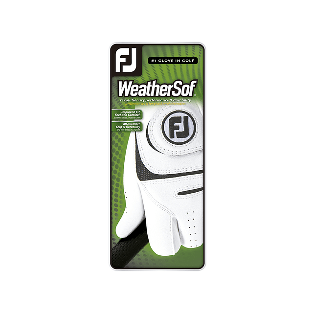 Guante  FootJoy Hombre WeatherSof Cadet