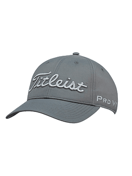 Tour Perfommance Cap Charcoal Grey