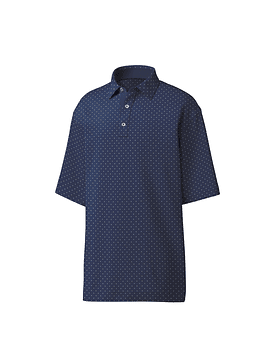 Footjoy Diamond Print Lisle Self Collar