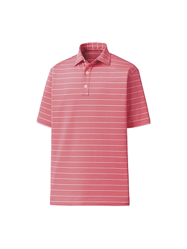 Footjoy Lisle Double Pin Stripe Self Collar