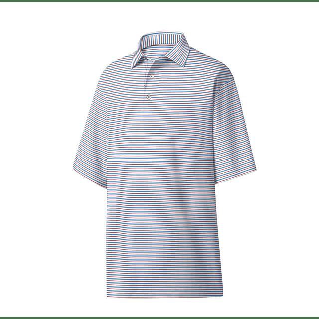 Footjoy Lisle Classic Stripe Self Collar