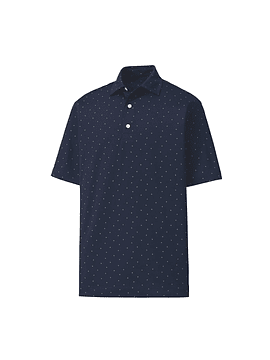 Footjoy FJ Print Lisle Self Collar