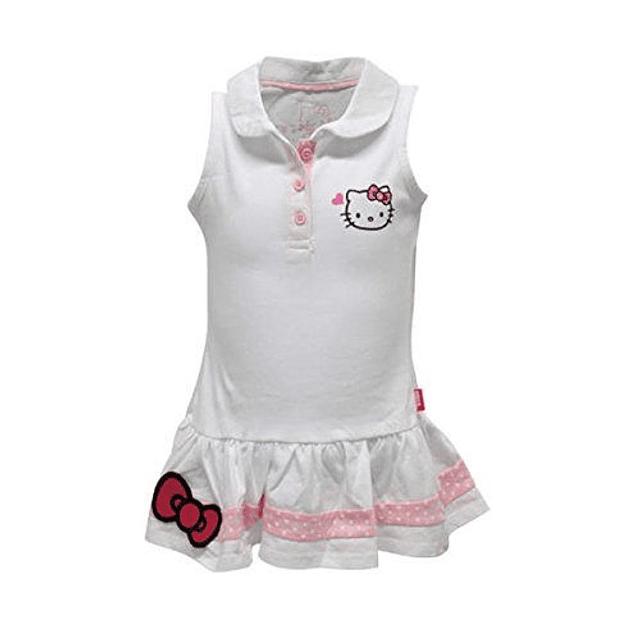 Vestido Hello Kitty niña Sin Manga