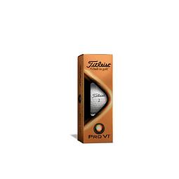 Tubo de Pelota Titleist  Pro V1 (3 pelotas)