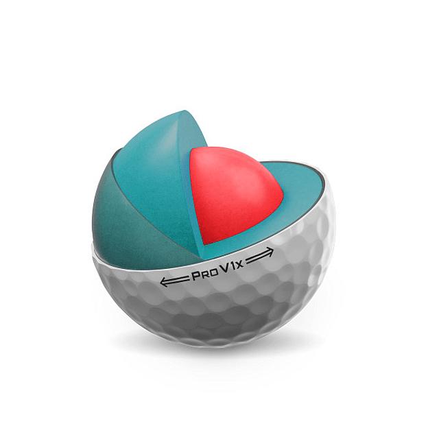 Tubo de Pelota Titleist Pro V1X (3 pelotas)