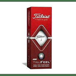 Tubo de Pelota Titleist TruFeel (3 pelotas)