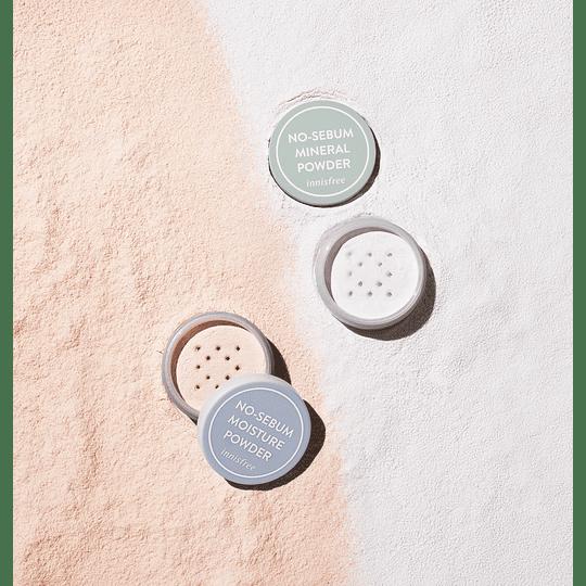 Innisfree No-Sebum Mineral Powder - Polvo Control Brillo