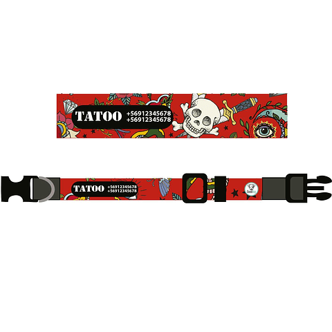 COLLAR ESTAMPADO TATOO