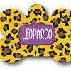 PLACA LEOPARDO