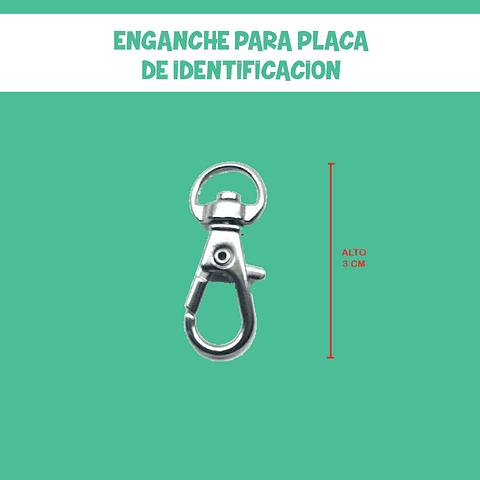 ENGANCHE PARA PLACA DE IDENTIFICACION
