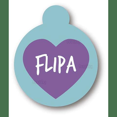 PLACA FLIPA