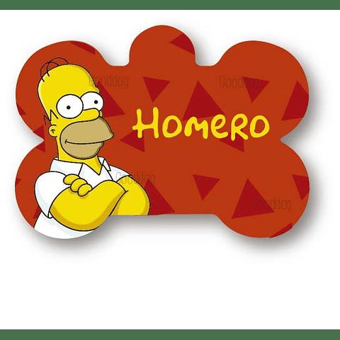 PLACA HOMERO