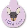 PLACA LAURA PINCHER