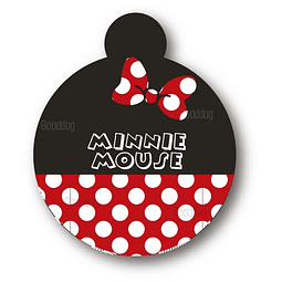 PLACA MINNIE MOUSE