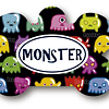 PLACA MONSTER