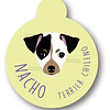 PLACA NACHO TERRIER CHILENO