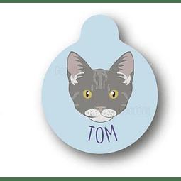 PLACA TOM