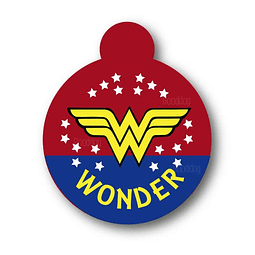 PLACA WONDER WOMAN