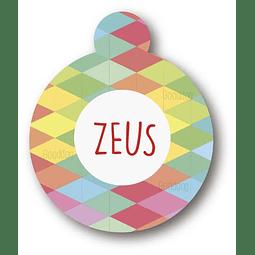 PLACA ZEUS