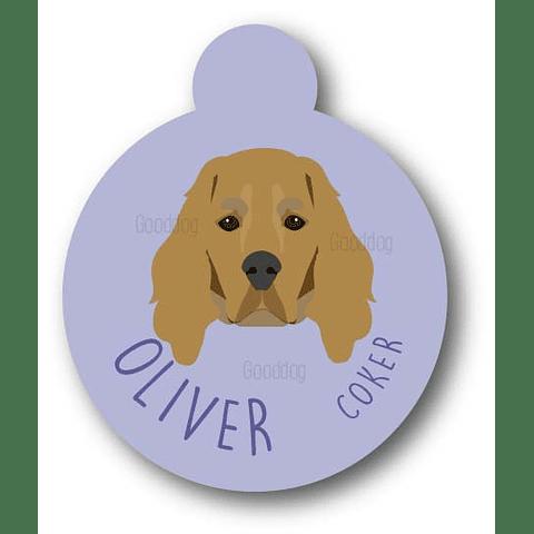 PLACA OLIVER COCKER