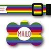 PACK PLAQUITA + COLLAR  DISEÑO MAILO