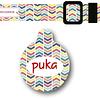 PACK PLAQUITA + COLLAR  DISEÑO PUKA