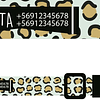 COLLAR ESTAMPADO CHEETA
