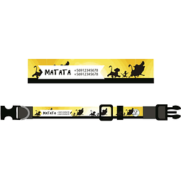 COLLAR ESTAMPADO MATATA
