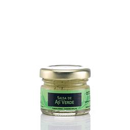Mini salsa de aji verde