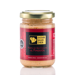 Pasta de ajo chilote al pimentón