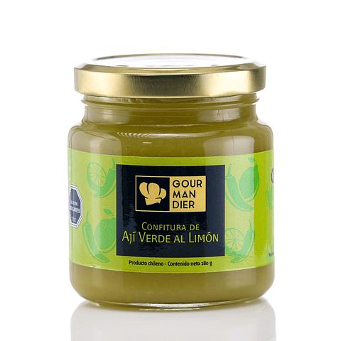 Confitura de ají verde al limón
