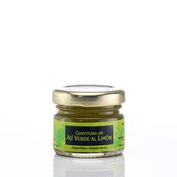 Mini confitura de ají verde al limón