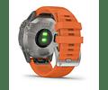 Fenix 6 Sapphire - Titanium Spark Orange
