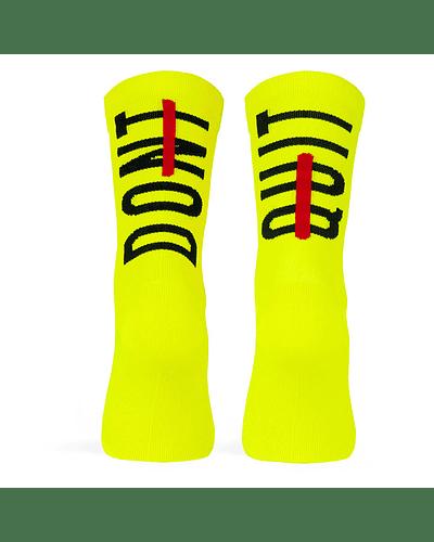 Calcetines Dont Quit Neon - L/XL