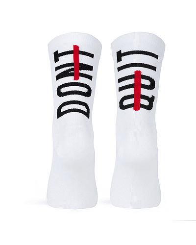 Calcetines Dont Quit White - S/M