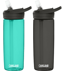 Pack Botellas Eddy+ - Charcoal/Spectra