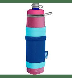 Botella Peak Fitness Chill 25 Oz - Pink/Blue