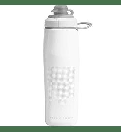 Botella Peak Fitness 25 Oz - White/Silver